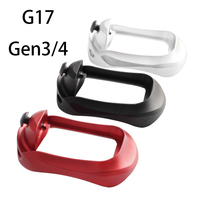 Magorui glock pro plus magwell de alumínio para glock 17 22 24 31 34 35 37 gen 1 4 Acessórios para armas de caça     -