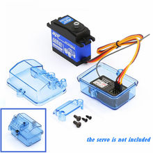 Scatola di ricezione del ricevitore impermeabile in plastica per Huanqi 727 / Slash RC accessorio per telecomando per auto Part - Blue