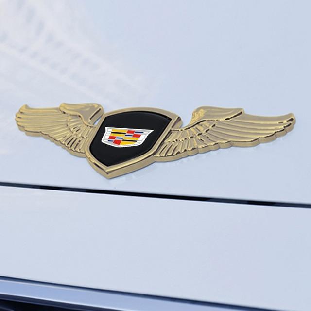 Auto Engine Bonnet Trim Emblem For Cadillac Seville XT4 CT4 SLR STS EXT CTS Escalade CT5 Coupe Car Front Badge Decal Accessories 6