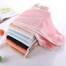 Calças de algodão e linho para crianças à prova de mosquitos para meninos wearcasual calças, grandes calcinhas para crianças e leggings para meninas emverão