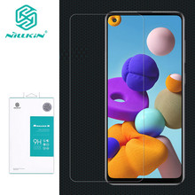 9H Tempered Glass For Samsung Galaxy A21s NILLKIN Amazing H Glass Screen Protector For Samsung A21s Phone Protective Film(China)
