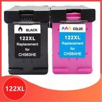 122XL cartucho de Substituição para hp 122 xl para Hp Deskjet 1510 2050 1000 1050 2540 3000 3050 3052A 1050A 2000 2050A impressora