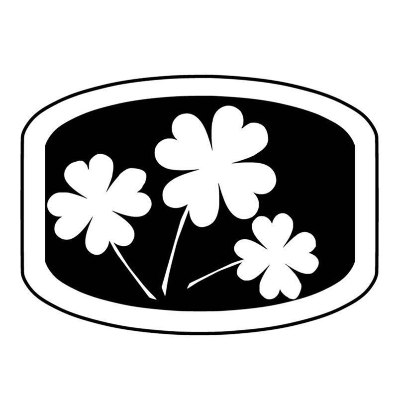 DiyArts Clover Frame Metal Cutting Dies Lucky Flower Tag Dies Scrapbooking Album Embossing Stencil Die Cut Craft Dies Decor