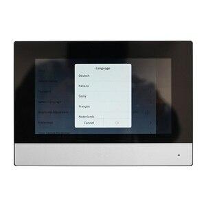 Image 3 - HIK Original international version Multi Language DS KH6320 WTE1 Indoor Monitor,802.3af POE,app Hik connect,WiFi,Video intercom