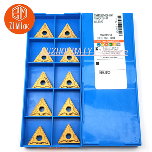 Image 2 - 10pcs TNMG220408 HM NC3020 carbide inserts CNC lathe cutting tools turning tools lathe tools suitable for steel