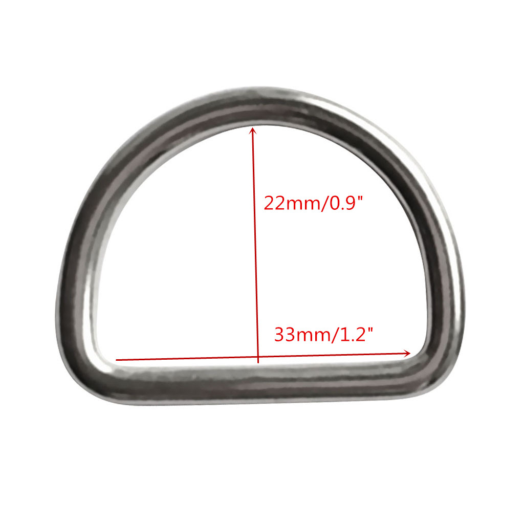 Pack Of 4pcs Diving Scuba D Ring Suits 1.2