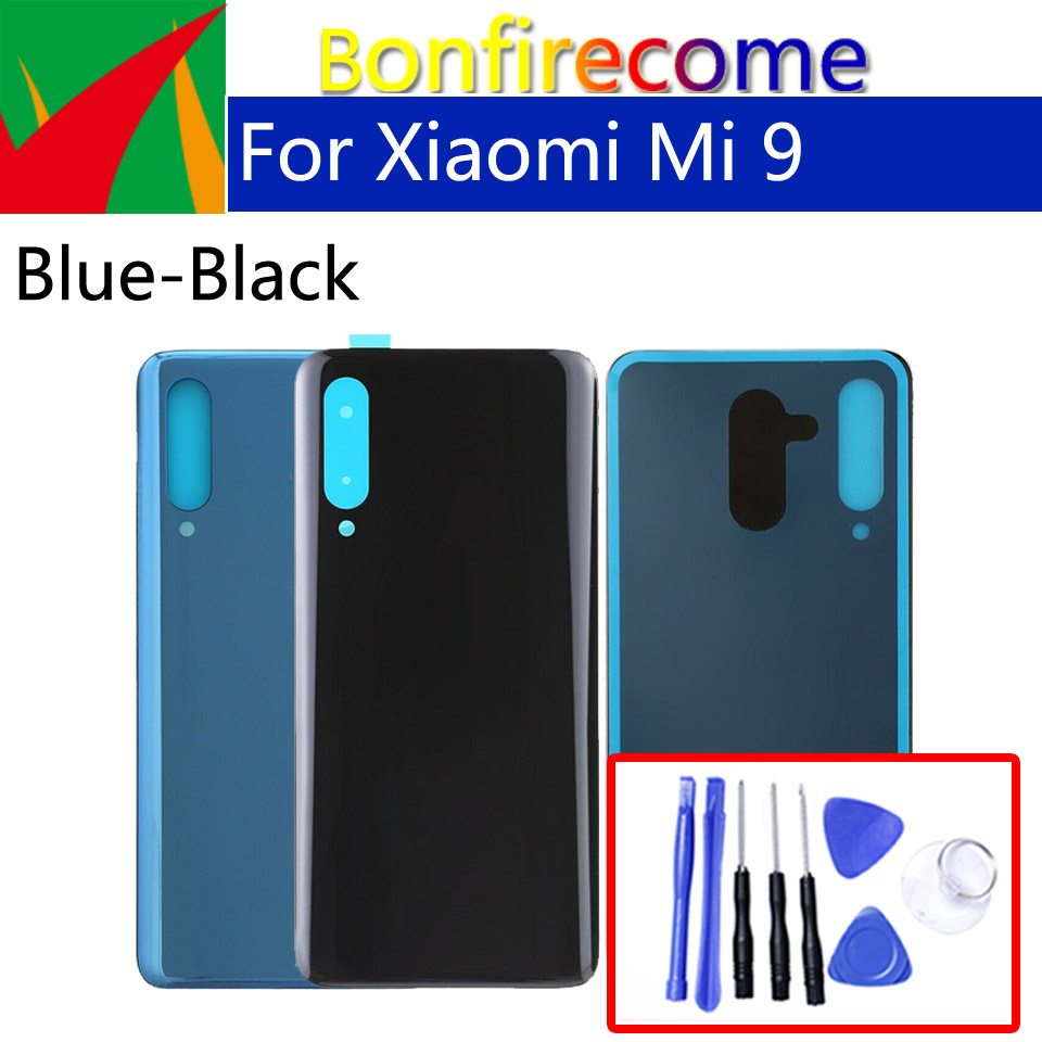 <font><b>Battery</b></font> Back <font><b>Cover</b></font> For <font><b>Xiaomi</b></font> Mi9 <font><b>Mi</b></font> <font><b>9</b></font> M9 Back <font><b>Battery</b></font> Door Rear Housing <font><b>Cover</b></font> Case Chassis Shell replacement image