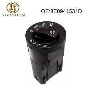 8E0941531D Auto Light Lamp Switch Control For AUDI A4 Avant Cabriolet B6 B7 2001-2008