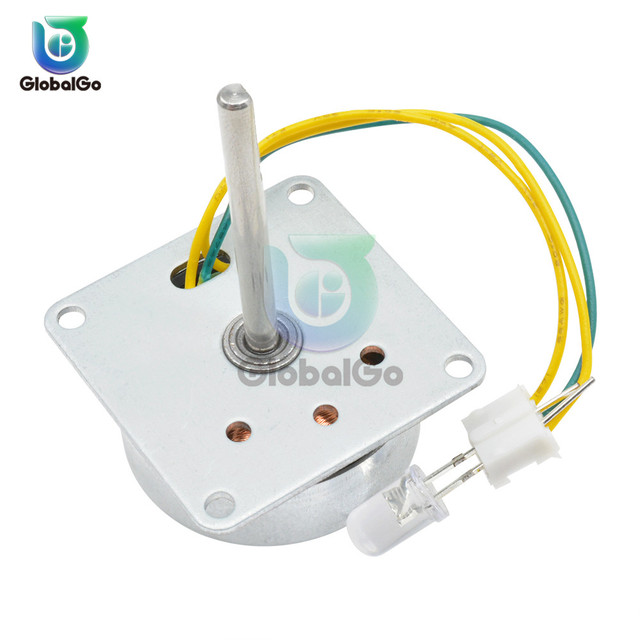 Micro Three Phase AC Wind Generator Turbines Brushless Motor Hand Cranked Generator 3-24V 0.1A-1A 0.5-12W RPM3000-6000 LED 2
