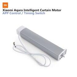 Aqara контроллер занавеса умный занавес двигатель ZiGBee версия умный дом Mi Home смартфон приложение дистанционное управление