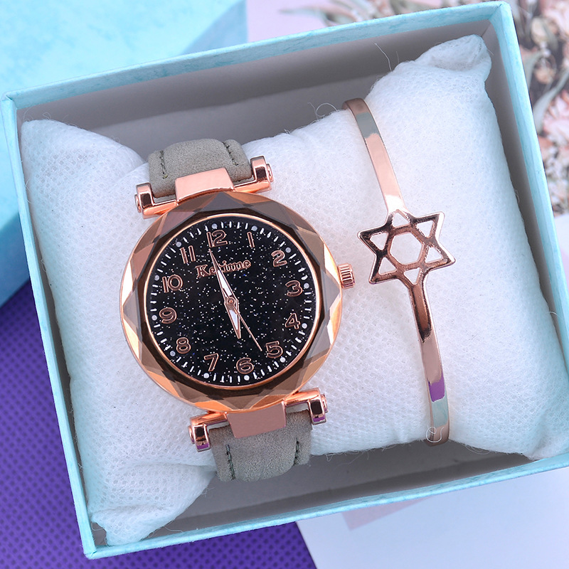 Casual Women Watches Starry Sky Quartz Wristwatch Female Clock Leather Fashion Ladies Wrist Watches reloj mujer relogio feminino 3