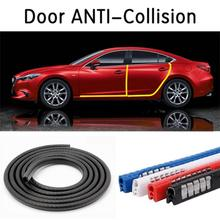 5M Universal Car Door Anti-collision Rubber Strip Without Sticking Anti-scratch Strip Multicolor Protection Tape Car Styling