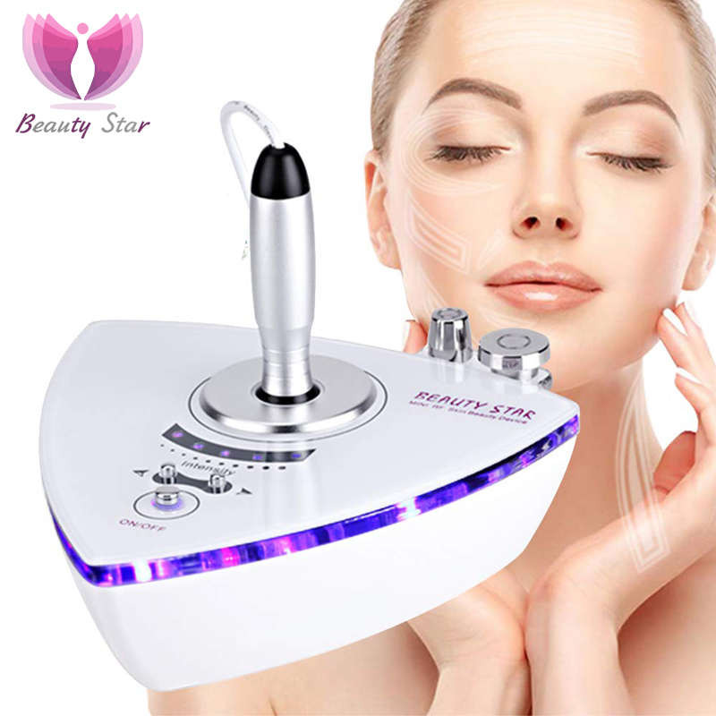Beauty Star RF Radio Frequency Facial Machine Face Skin Removal Wrinkle Skin Tightening Eye Bags Removal Body Slimming Massager