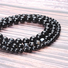 Hot Sale Natural Stone Black Striped Agate Beads 15.5 Pick Size: 4 6 8 10 mm fit Diy Charms Beads Jewelry Making Accessories