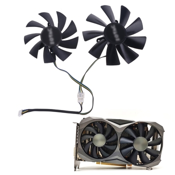 2020 New 87mm GA92S2H 100mm GAA8S2H GAA8S2U 4Pin Cooler Fan for ZOTAC GTX 1060 1070 1080 image