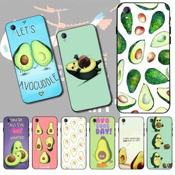 Перейти на Алиэкспресс и купить Пенгуван авокадо новое поступление черный чехол для мобильного телефона Vivo Y91c Y17 Y51 Y67 Y55 Y93 Y81S Y19 Y7S чехол
