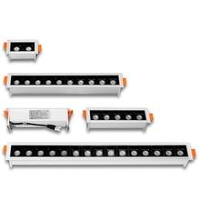Led-Downlight 110V 220V Ce Line Ceiling-Lamp Embedded Bedroom 4W Kitchen Creative Recessed