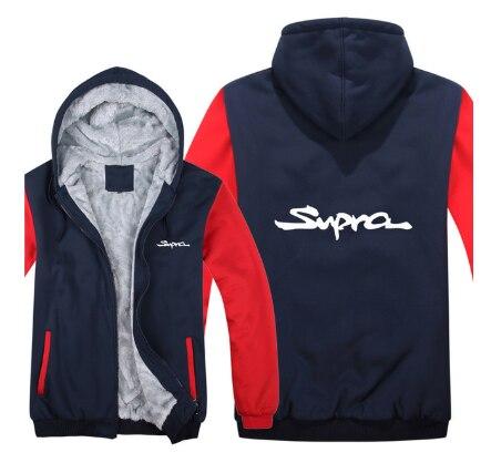 สำหรับToyota Supra Hoodies Thickenแจ็คเก็ตผ้าขนสัตว์ขนแกะPullover Man Coatเสื้อVd