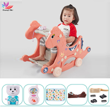 Rocking-Chairs Balance Kids Horse for Toy Gift Baby-Walker Multi-Functional Play 3-In-1