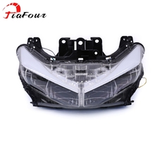 Fit For YAMAHA NMAX 125 NMAX 155 2015-2019 headlight mask assembly