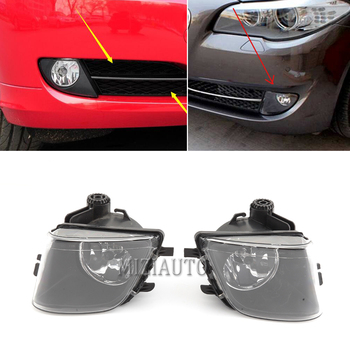 Car front fog light For BMW F01 F02 740i 740Li 750i 2009-2013 Fog Driving Light Clear Lens 1pc Left/Right with bulb