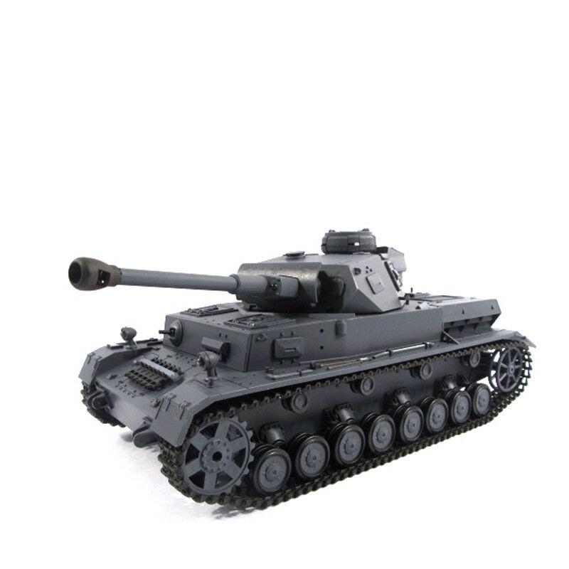 Heng Long 3859-1 German Panzer IV F2 6.0 with Steel Gearbox Sound Smoke RC Tank