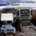 Lsailt Android навигационный интерфейс для Chevrolet Silverado Mylink System 2014-2019 с Waze Google auto carplay