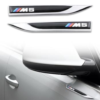2pcs NEW Stainless Steel Car Blade Car Body Waterproof Sticker For Bmw x1 x3 x5 x6 z4 f10 f20 f30 e36 e39 e46 e60 Car-Styling kalaisike custom car floor mats for bmw all model x3 x1 x4 x5 x6 z4 525 520 f30 f10 e46 e90 e60 e39 e84 e83 car styling