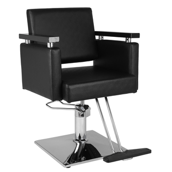 HZ8803 Hair Beauty Equipment Hydraulic Barber Chair Modern Black Styling Salon Haircut Beauty Salon Chair Salon Chair Barber ocean pearl powder pure seawater your own mask whitening firming 260g beauty salon equipment