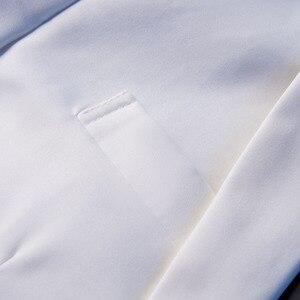 Image 5 - PYJTRL yeni moda beyaz siyah kırmızı rahat ceket erkekler Blazers sahne şarkıcılar kostüm Blazer Slim Fit parti balo takım elbise ceket