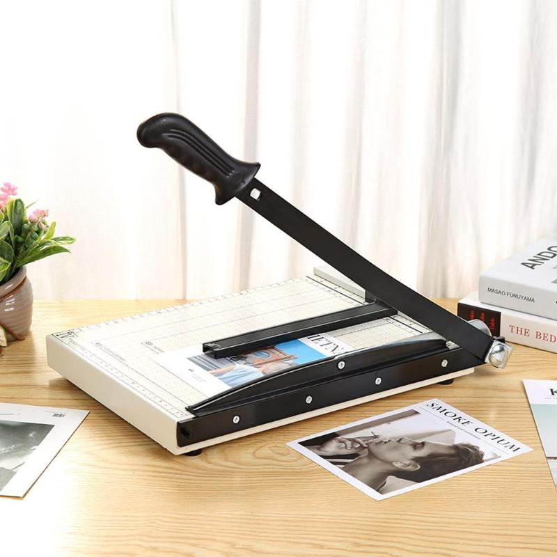 A4/A5 Precision Paper Cutter For Home Office DIY Scrapbook Papers Photo Cutter Durable Solid Metal Base And ABS Plastic Parts