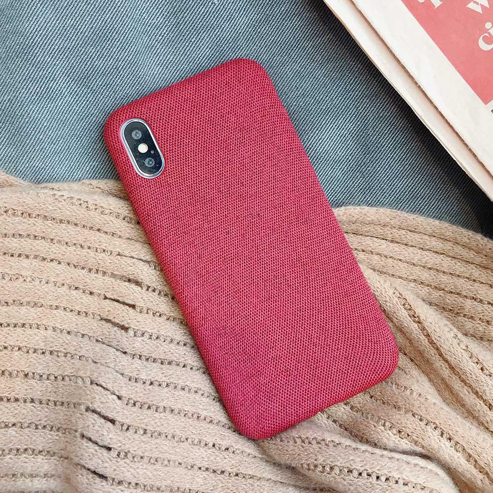 Boucho для iphone Xs MAX XR X XS чехол s крокодиловая текстура чехол для телефона для iphone 11 Pro max 7 8 6 6S Plus Роскошный чехол из искусственной кожи - Цвет: Cloth red