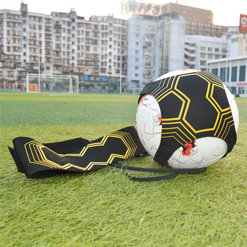 Adjustable Football Training Belt Solo Skills Kick Ball Trainer Soccer Ball Practice Belt Soccer Equipment Kick Futbol Belt