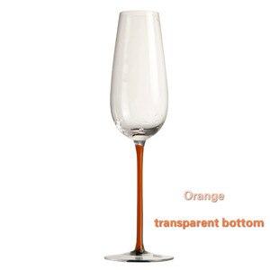 Image 5 - Cao Cấp Burgundy Đỏ Rượu Vang Kính Thủy Tinh Pha Lê Bụng To Cao Gót Bordeaux Champagne Thủy Tinh Sang Trọng Tiệc Bánh Mì Nướng Thủy Tinh