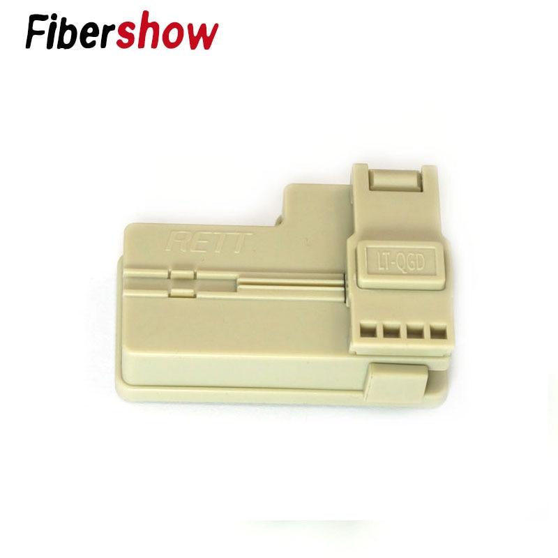 New Hand Tool FTTH Optical Fiber Cutter Tungsten Steel Sheet Fiber Optical Cleaver Tool Plastic Material