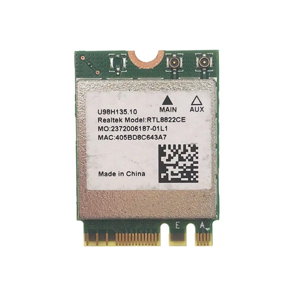 Realtek RTL8822CE 802.11AC 867 Мбит/с WiFi Bluetooth 4,2 NGFF карта