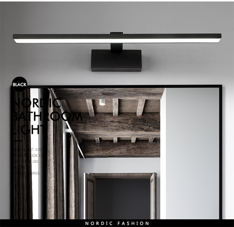 espelho faróis preto branco maquiagem luz parede