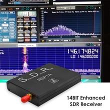 Pełnozakresowy odbiornik SDR miłośnicy muzyki odtwarzanie 1KHz-2GHz USB Radio Dongle akcesoria dla Windows Raspberry Pi 3