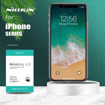 for iPhone 12 11 Pro XS MAX XR Nillkin H+ Pro Tempered Glass Screen Protector for iPhone 11 Pro XR XS Max 6 6S 7 8 Plus SE 2020