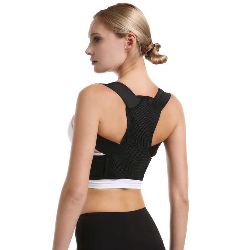 "Posture Corrector for Women and Kids, Premium Adjustable Back Brace Provide Lumbar Support,Suitable for Waist 37""-41.5""(XL)"