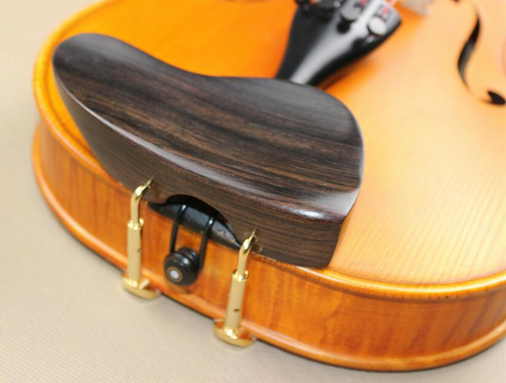 Excellent Violin 4/4 Ear Type Chin Rest, Very High, Super Quality, Smooth, Beautiful Appearance, Comfortable Chin