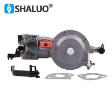 Hoge Kwaliteit Lpg Carburateur 168 Dual Fuel Lpg Ng Conversie Kit Voor 2KW 3KW 168F 170F Benzinemotor Generator Carburateur