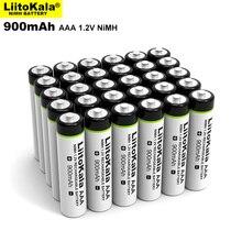 4 24PCS LiitoKala Original AAA NiMH Battery 1.2V Rechargeable Battery 900mAh for Flashlight, Toys,remote control