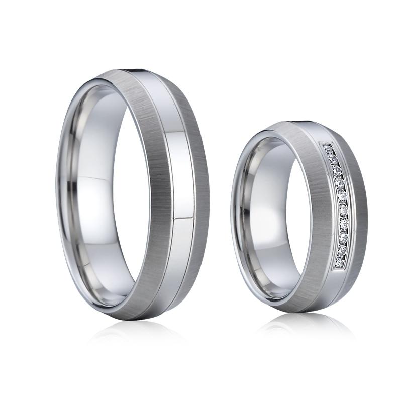 Custom Designer alliance wedding band couple rings titanium jewelry OSPV1832 (27)