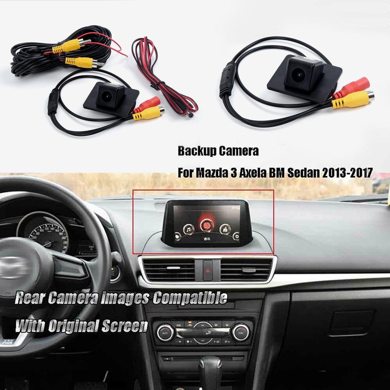 Car Rear View Reverse Parking Camera for Mazda 3 Mazda3 Axela Sedan BM 2013~2018