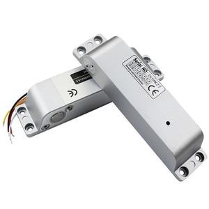 Image 5 - Fechadura de parafuso elétrica, controle inteligente de acesso, segurança residencial, seguro, dc 12v para casa e escritório fábrica