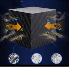 Эко-аквариум очиститель воды куб 10X10 см ультра активированный уголь сильная фильтрация и поглощение дропшиппинг