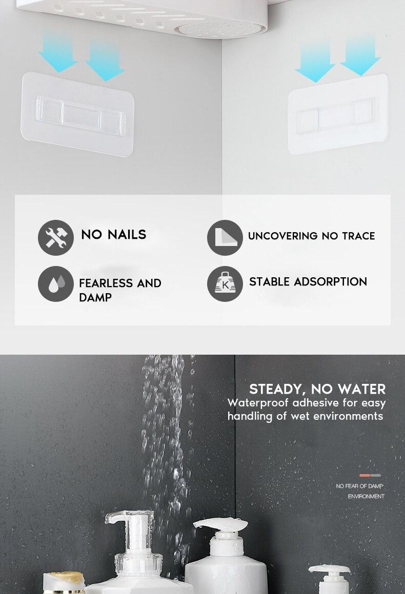 banho acessórios do banheiro shampoo titular