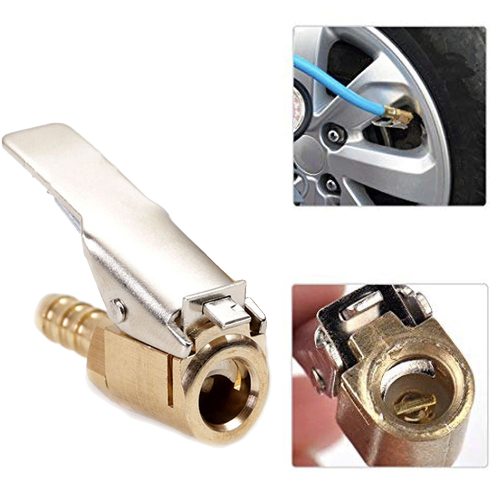 Tyre Inflator Valve Car Inflatable Quick Clip Copper Quick Clip Tire Inflatable Chuck Tail Plug