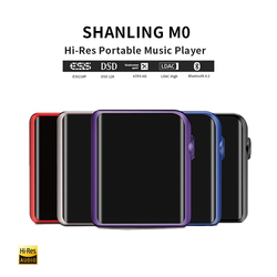 SHANLING M0 Mini Player Mp3 Portable Mp3 Player Bluetooth ESS Sabre ES9218P DSD Lossless Music Flac Player Hifi